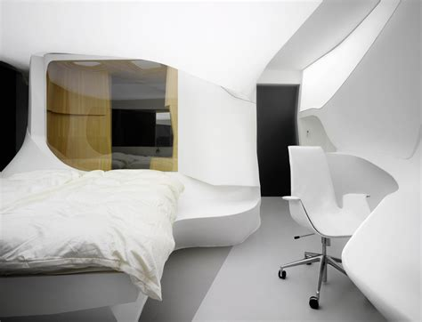 future hotel showcase lava minimalist bedroom room