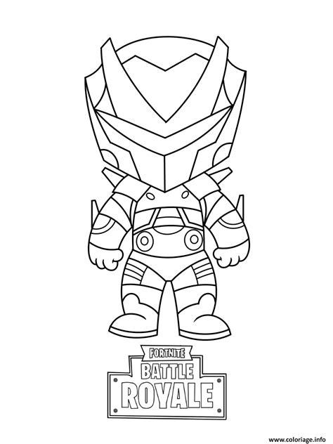 Coloriage Mini Omega Fortnite dessin