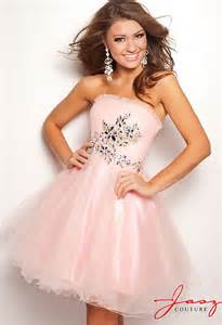 jasz cute and tulle babydoll homecoming dress 4716