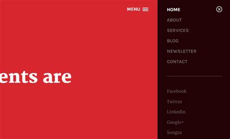 website layout vertical menu tips for designing vertical website navigation menus