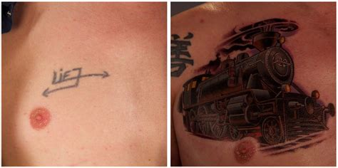 tattoo nightmares antes y despues awful tattoos transformed into authentic pieces of art