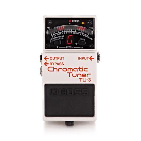 Chromatic Tuner tu 3 pedal chromatic tuner b stock at gear4music