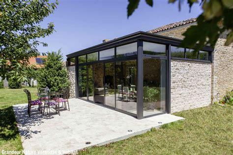 veranda entre 3 murs v 233 randa contemporaine en et verre ambiance v 233 randas