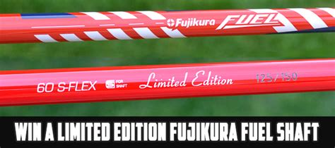 Fuel Giveaway - fujikura limited edition us open fuel shaft giveway
