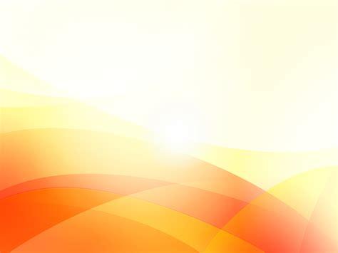Orange Waves PPT Backgrounds   Abstract, Orange, White