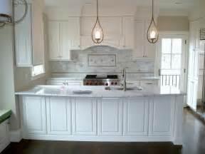 Georgetown Cabinets Arlington Remodel White Raised Panel Full Overlay
