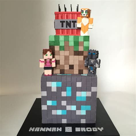 mine craft for minecraft cake cakecentral