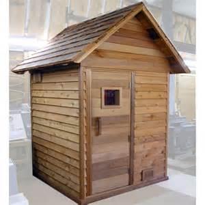 Backyard Sauna Kit 4 x 4 outdoor sauna kit roof heater accessories