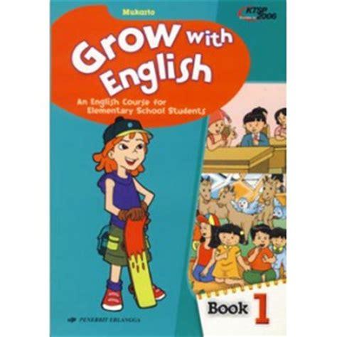 jual buku with grow bahasa inggris kelas 1 sd erlangga mukarto gedebook shop