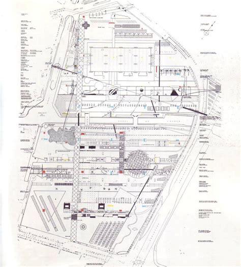 Zaha Hadid Floor Plans by Parc De La Villette Stations Urban Remote