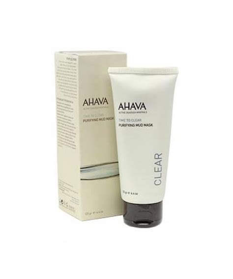 Ahava Instant Detox Mud Mask by Buy Ahava Purifying Mud Mask At Dead Sea Mall