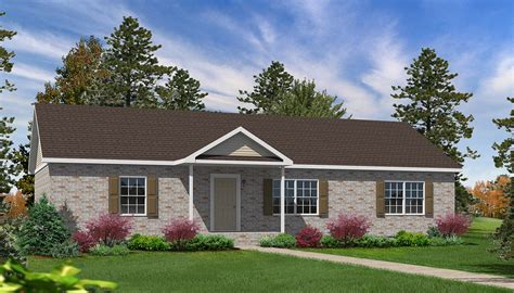 Willow Floor Plan by Laurel Hill Ranch Style Modular Homes