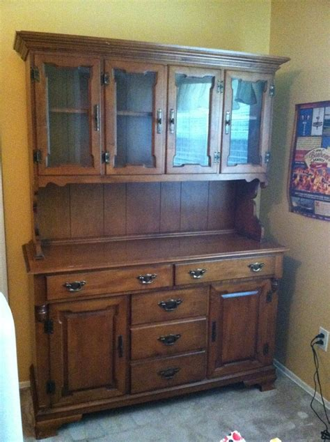 Antique China Cabinet With Glass Doors I A Republic Solid Maple China Cabinet 2 Sets Of Glass Doors O My Antique