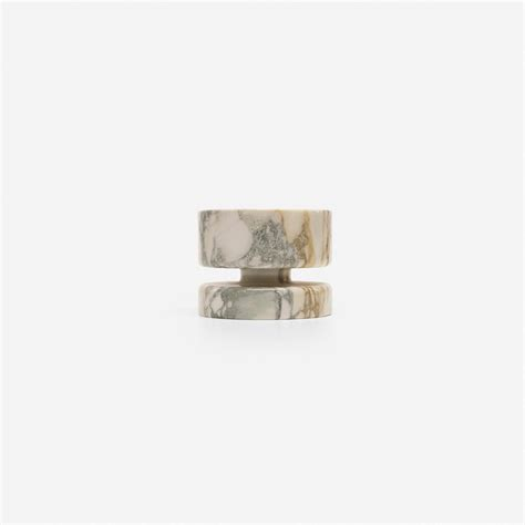 marble decorative accessories marble vessel angelo mangiarotti circa 68 knoll