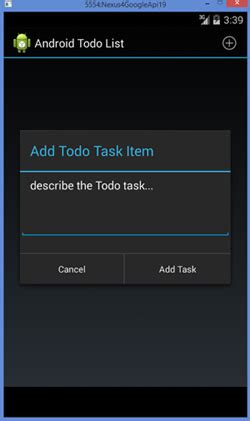 android tutorial todo list android todo list application tutorial java tutorial blog