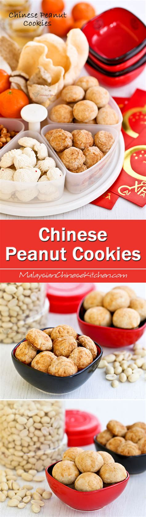 new year cookies recipes malaysia peanut cookies malaysian kitchen