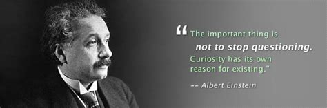 Einstein Quote About Asking Questions