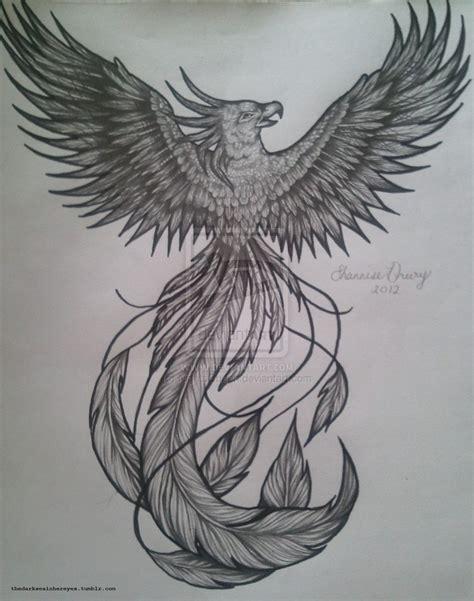 Phoenix Tattoo Art | phoenix tattoo flash by nightsqueen on deviantart