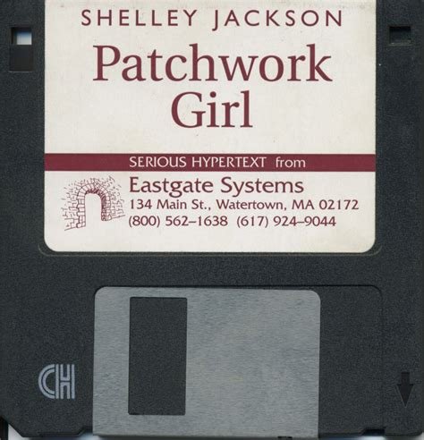 Patchwork Shelley Jackson - floppy front