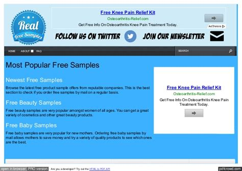 Actual Free Search Real Free Sles Free Product Sles And Freebies By Mail