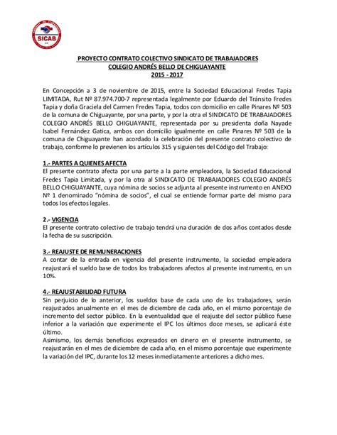 contrato colectivo docente 2015 al 2017 newhairstylesformen2014com proyecto contrato colectivo 2015 2017