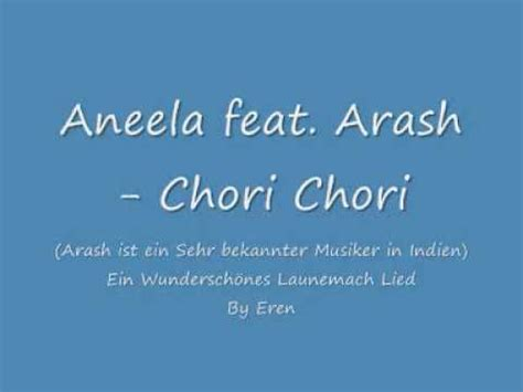 arash chory chory full download aneela fet arash chori chori