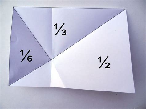 Paper Folding Math Problem - 20 best images about fractions decimals on