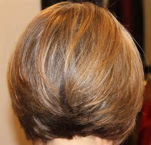 hairstyles around the at the back short layered bob hairstyles front and back view