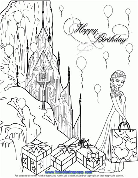 frozen coloring pages elsa ice castle h m coloring pages