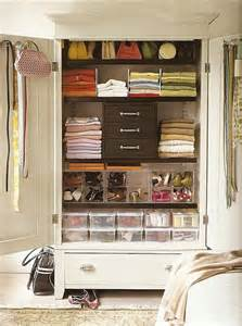 Organize Wardrobe by An Organized Closet Armoire Arianna The