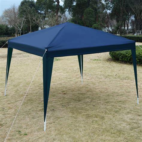 ez up gazebo 10 x 10 ez pop up canopy tent gazebo