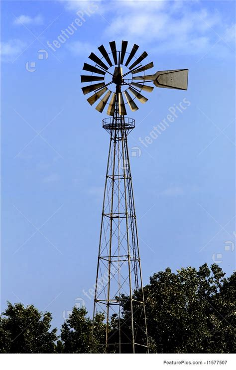 picture  farm windmill
