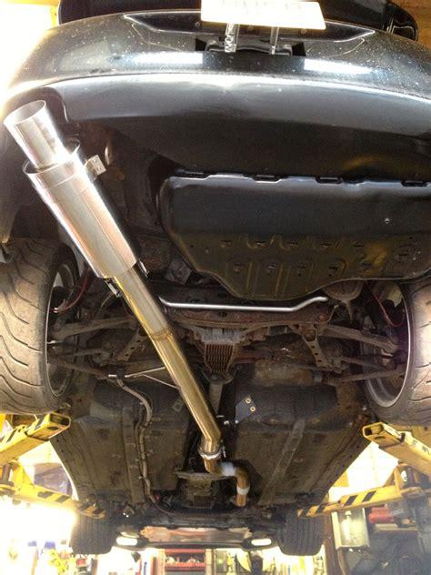 Toyota Supra Exhaust Garage Whifbitz 4 Quot S S Supra Exhaust Single Box Garage