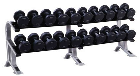 Dumbell Set york pro style dumbbell set rack 12 5kg to 35kg 10 pairs
