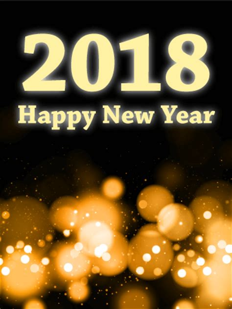 new year 2018 when does it start and end glowing light happy new year card 2018 birthday