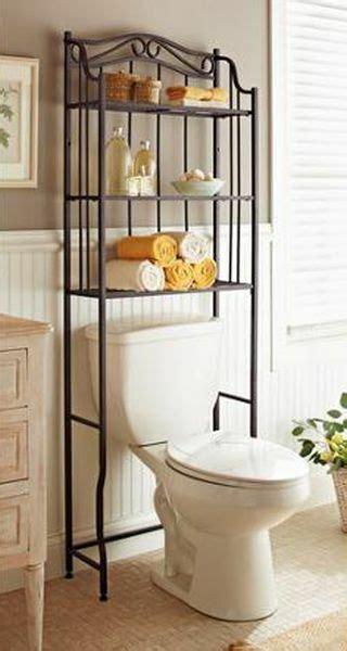 bathroom cabinet   toilet storage rack space saver shelf organizer bronze ebay