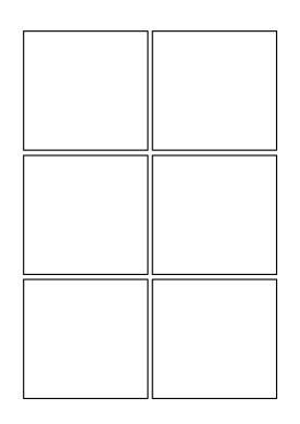 pages template 2x3 card blank comics pages comics club