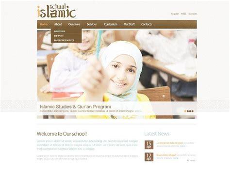Islamic Website Design Templates Islamic Website Templates Free