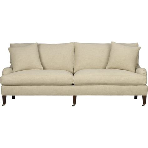 settee casters essex sofa with casters