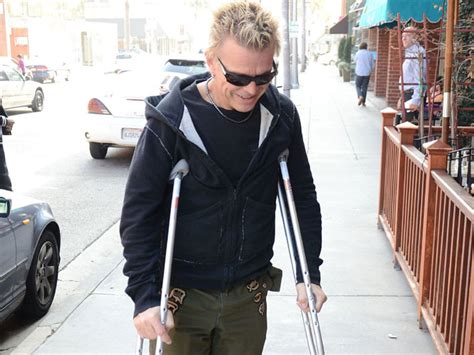 billy idol motorcycle accident professor green cheats death after car crash gigwise