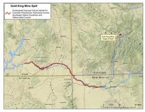 colorado gold mines map mine spill fouls colorado s animas river raising
