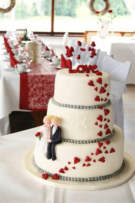 Hochzeitstorte Rot by 120 Dekoideen F 252 R Hochzeitstorte Feste Feiern Mit Chic