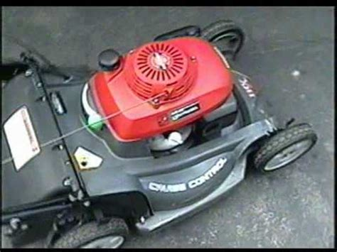 honda hrx  lawnmower youtube