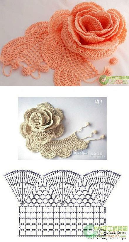 diagram crochet flower thread crochet c3 crochet designs