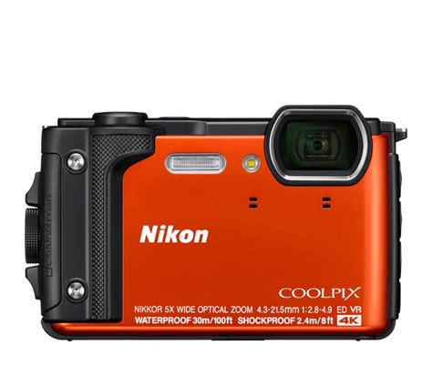 Nikon Coolpix W300 Yellow 4k Kamera Underwater nikon coolpix w300 compact digital waterproof