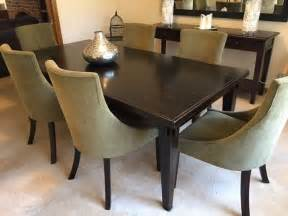 New Style Dining Table Gorgeous Near New Bali Style Dining Table And 6 Suede Chairs Aud 1 500 00 Picclick Au