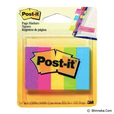 Harga Kertas Post It by Jual 3m Post It Page Markers 670 5an Murah Bhinneka