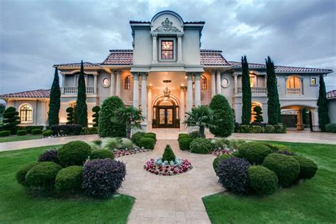 luxury homes in plano tx tour a grand mediterranean style home in plano