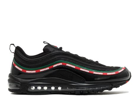 Undftd X Nike Air Max 97 Black nike air max 97 og undftd quot undefeated quot nike aj1986 001 black speed gorge green