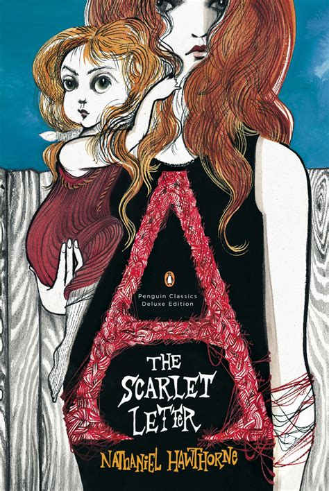 the scarlet letter book cover the scarlet letter penguin classics deluxe edition
